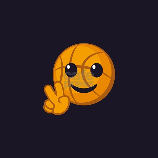 Basketball Peace Emoji