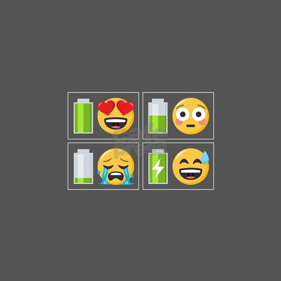 Emoji Phone Battery