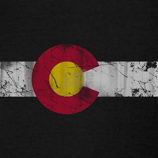 Vintage Colorado State Flag Fade
