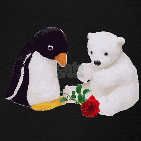 Penguin Polar Bear Rose