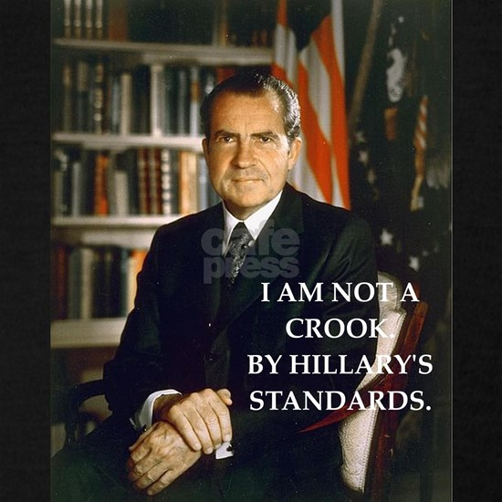 nixon and hillary clinton