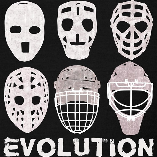 Hockey Goalie Mask Evolution Racerback Tank Top By Brando Cafepress