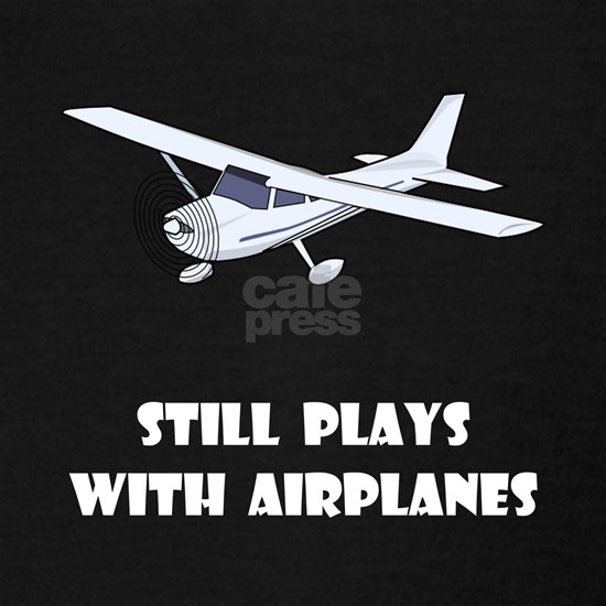 Plays With Airplanes White