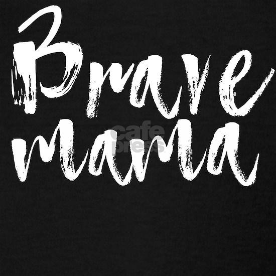 Brave mama white