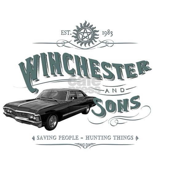 Supernatural - Winchester & Sons grey