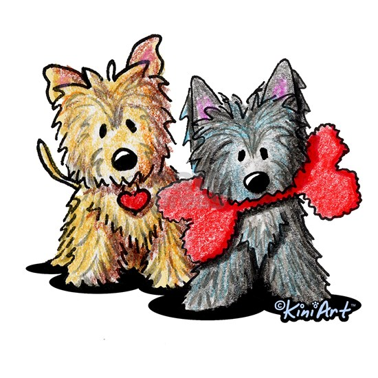 Cairn Terrier Duo