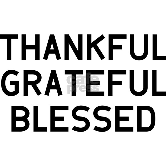 THANKFUL BLESSED