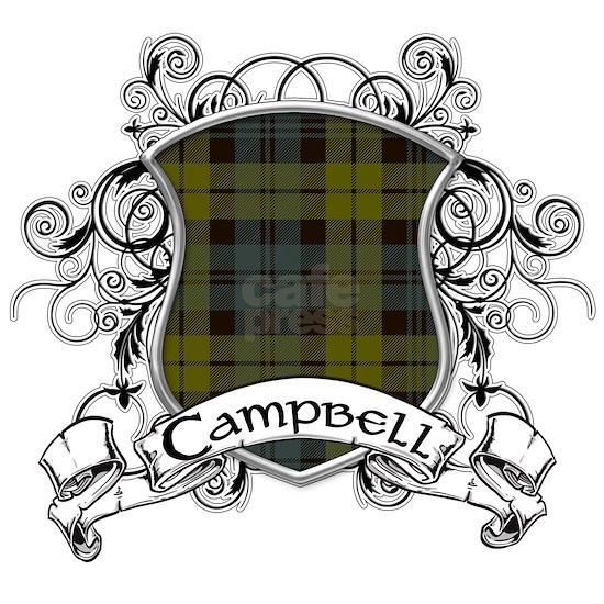 Campbell Tartan Shield