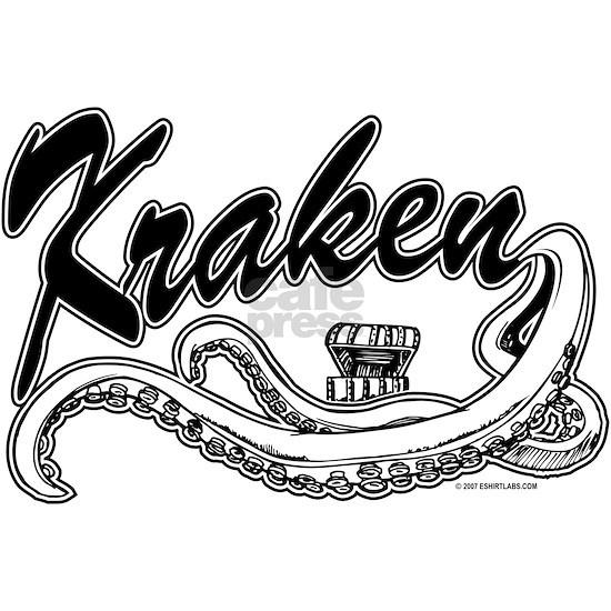 Kraken Baseball Style Logo