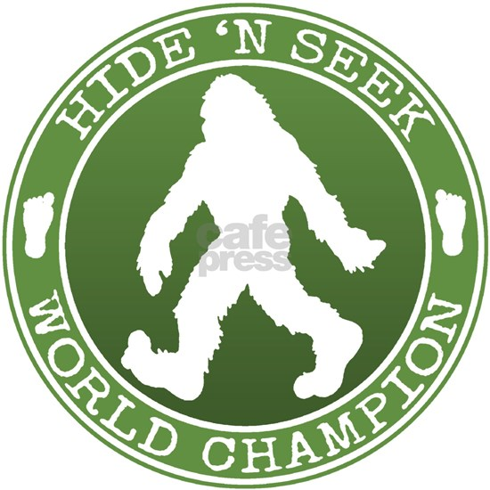 Bigfoot Hide n Seek World Champion