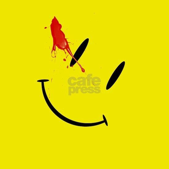 The Comedians Badge - Watchmen Smiley