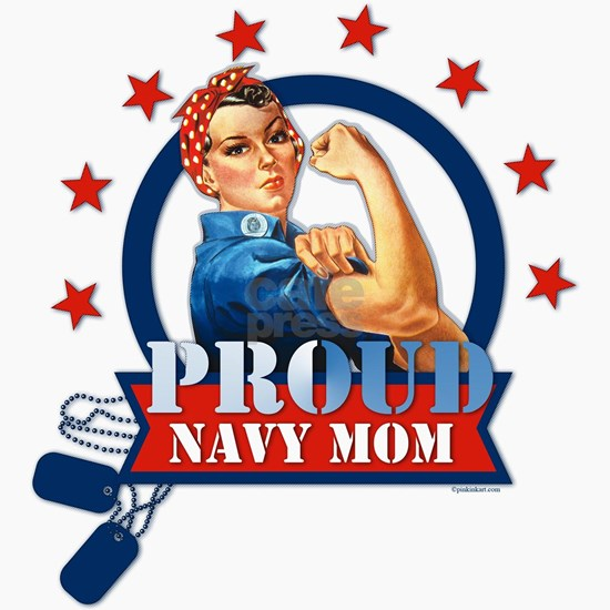 Rosie Proud Navy Mom