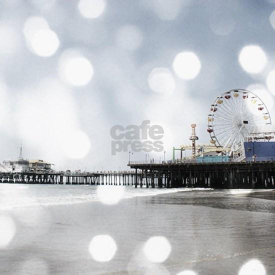 Grey Santa Monica Pier