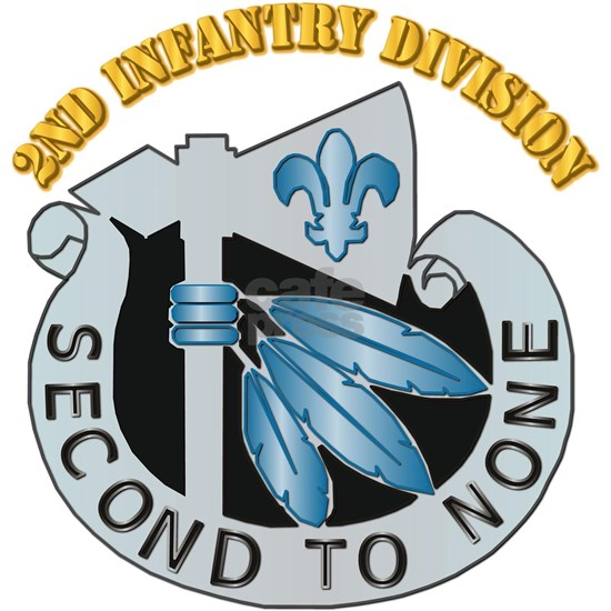DUI - 2nd Infantry Division with Text