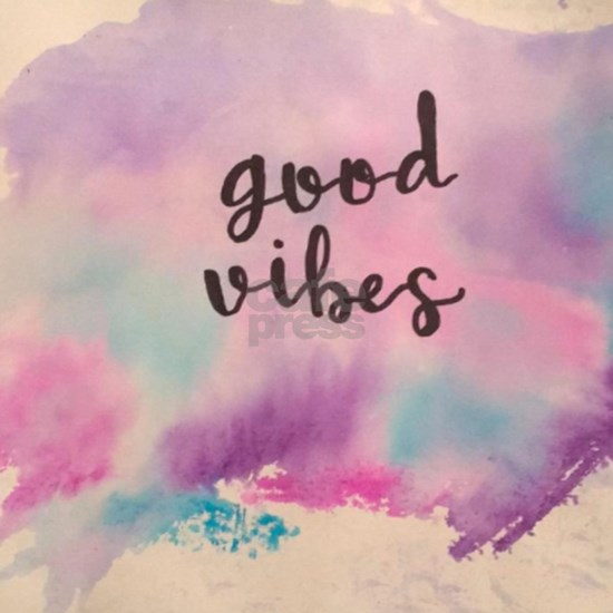Good Vibes Calligraphy