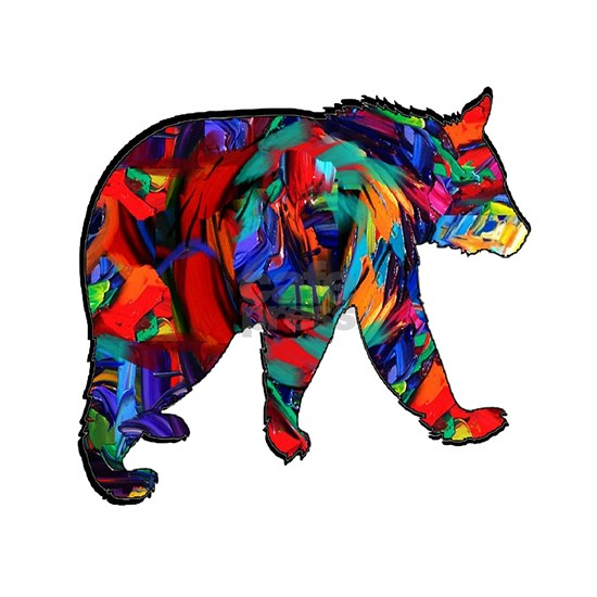 BEAR PAINTED