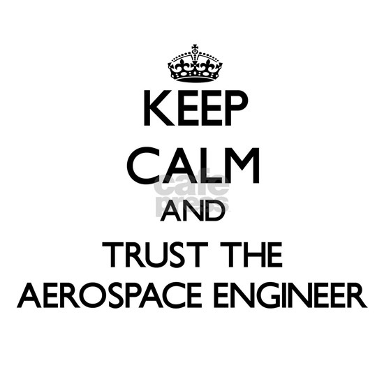 Keep Calm and Trust the Aerospace Engineer