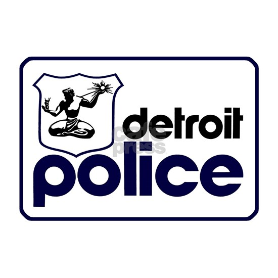 Old Detroit Police Logo