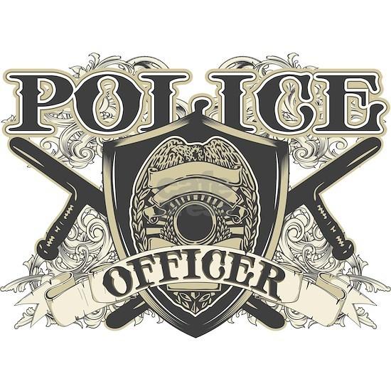Vintage Police Officer