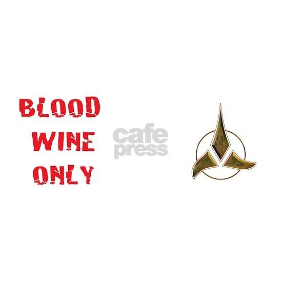 KlingonBlood wine