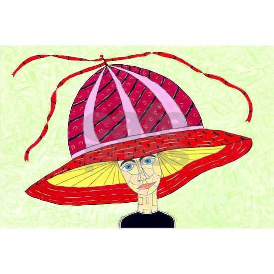 1970's English Summer Hat