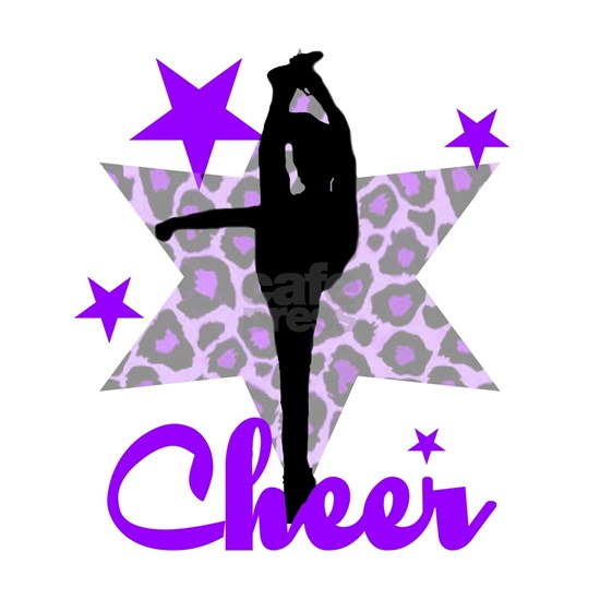 Purple cheerleader
