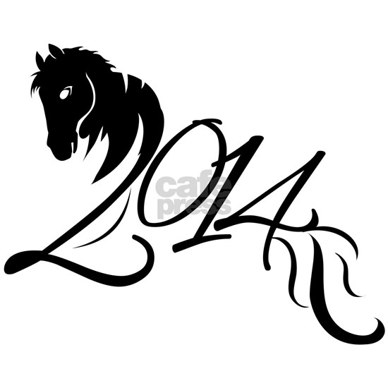 2014 Chinese Symbol Year of the Horse