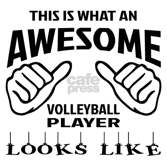 This is what an awesome Volleyball player