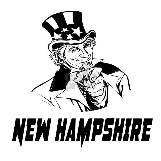 New Hampshire American State Designs