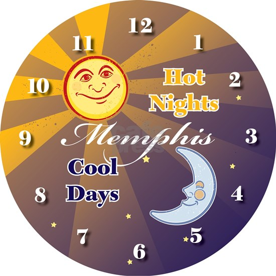 Hot Days Cool Nights - clock