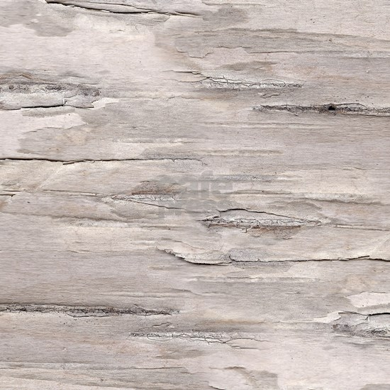 White Distressed Rustic Faux Printed Beechwood