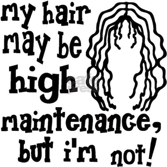 Kelly green My Hair May Be High Maintenance, But I