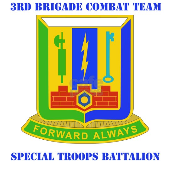 DUI-3RD BDE, SPECIAL TROOPS with text