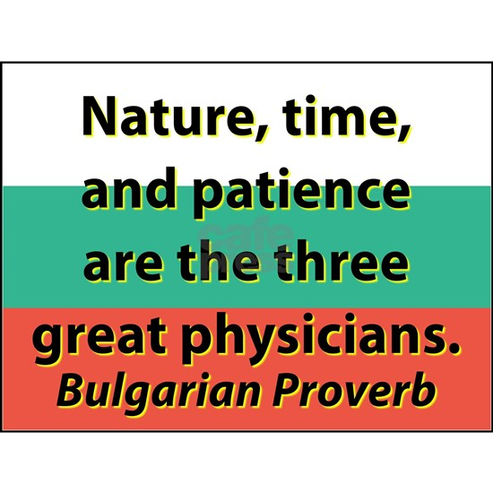Nature Time And Patience