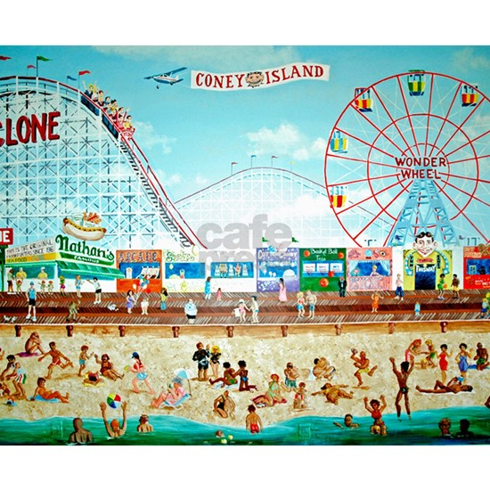 Coney Island Painting 1