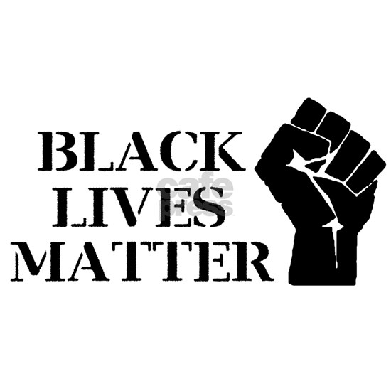 Black Lives Matter - Raised Clenched Fist Dog Tags by ...