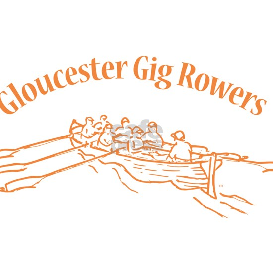 Gloucester Gig Rowers - orange fill