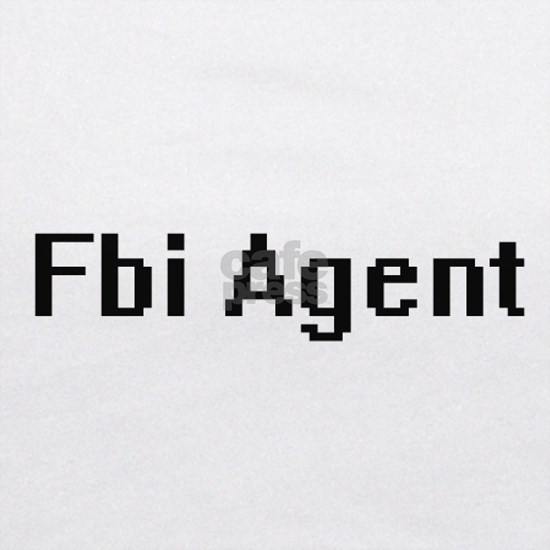 Fbi Agent Retro Digital Job Design