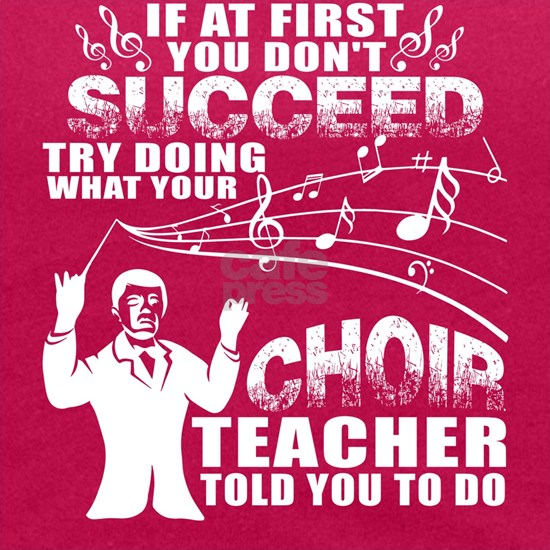 Try Doing What Your Choir Teacher Told You To Do T