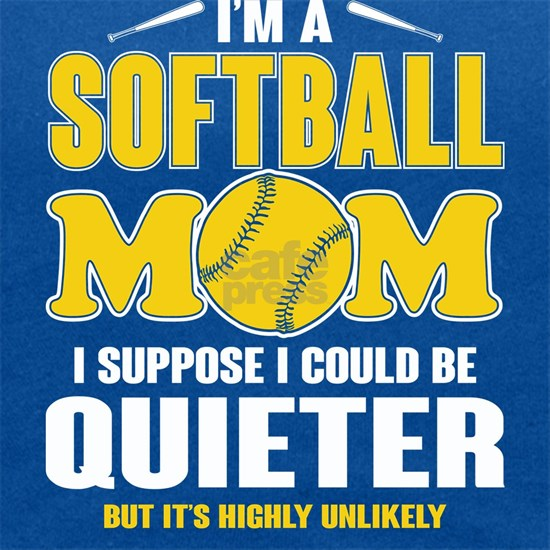 Super Softball Mom T Shirt