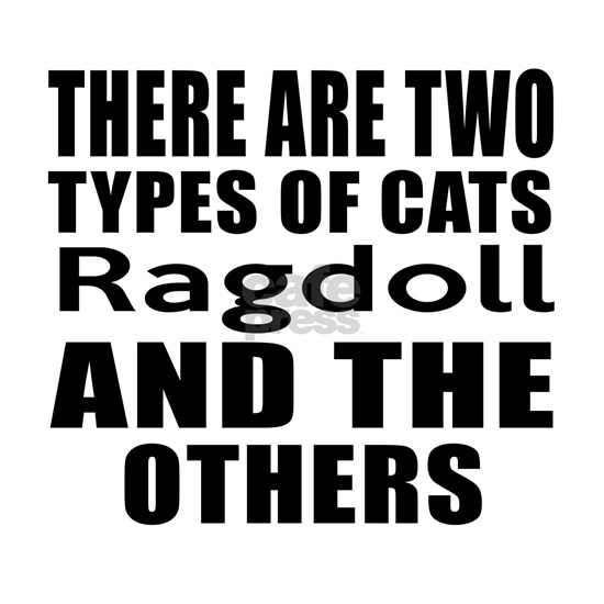 There Are Two Types Of Ragdoll Cats Designs