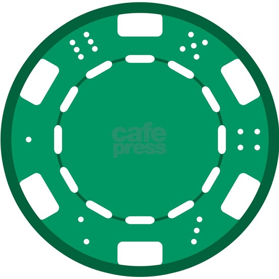 Green Poker Chip
