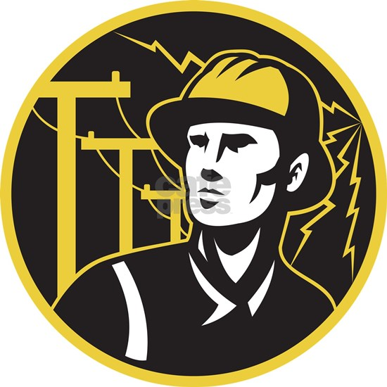 power lineman electrician repairman
