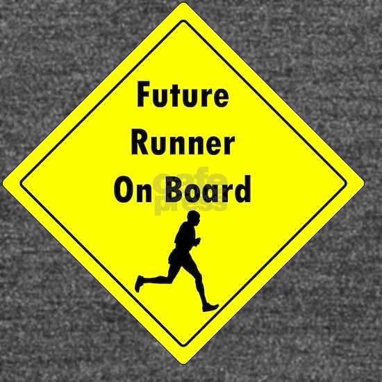 80cbff3a Future Runner On Board Maternity T-Shirt Long Sleeve Maternity T ...