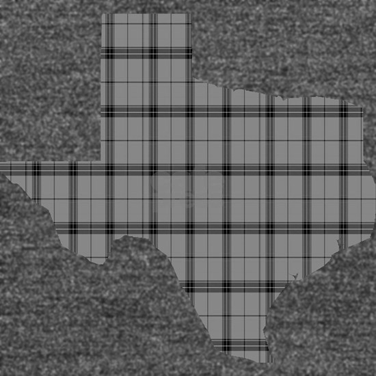 Texas: Grey Plaid