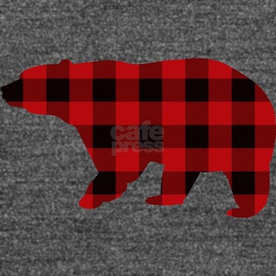 lumberjack buffalo plaid Bear