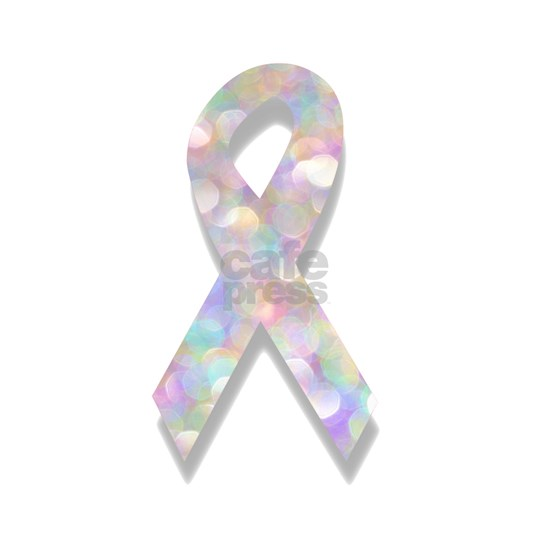 pearl lung cancer ribbon