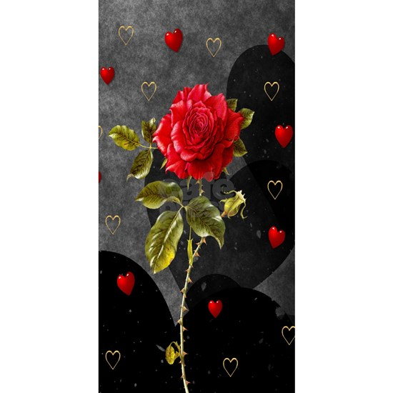 Red Rose Black Hearts