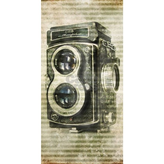photographer retro camera