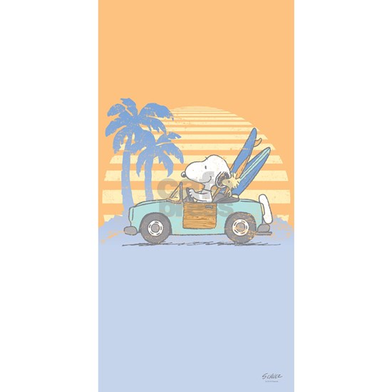 Snoopy Hits the Beach